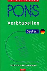 PONS Verbtabellen, Deutsch e-book