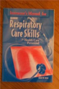 Instructor's Manual for Respiratory Care Skills for Health Care Personnel e-book