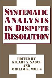 Systematic Analysis in Dispute Resolution e-book