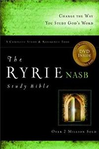 The Ryrie NAS Study Bible Bonded Leather Burgundy Red Letter e-book